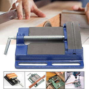 6 Drill Press Vise Woodworking Quick release Clamp Machine Grip Wood Heavy Duty