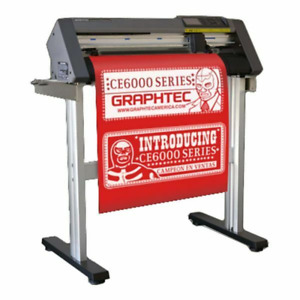 24 Graphtec Ce6000 60 Vinyl Cutting Plotter High Performance Ac 100 120v