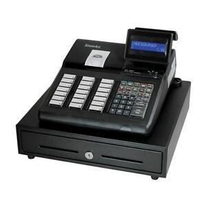 Sam4s Er 925 Cash Register With Raised Keyboard With Receipt Printer New