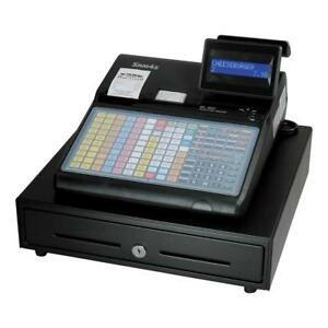 Sam4s Er 940 Pos Retail Cash Register Flat Keyboard Dual Printer New