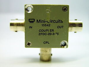 Mini circuits Zfdc 20 3 75 Directional Coupler