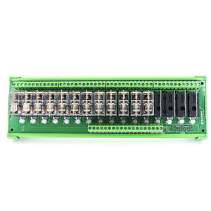 Dc 24v 16 Channel Omron Relay Module Plc Amplifier Board Tnkg2r 1e k1624