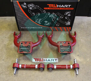 Truhart Adjustable Front Rear Camber Kit Combo For 92 95 Honda Civic Eg