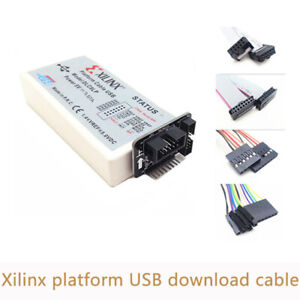 Xilinx Usb Platform Download Cable Jtag Programmer For Fpga Cpld Xc2c256