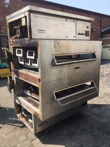Middleby Marshall Double Stack Gas Conveyor Ovens Ps360