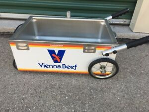 Vienna Beef Hot Dog Wagon Cart Or Concession Stand Warmer