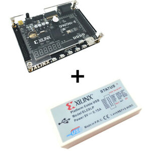 Xilinx Spartan 6 Fpga Kit Xc6slx9 Development Board platform Usb Download Cable