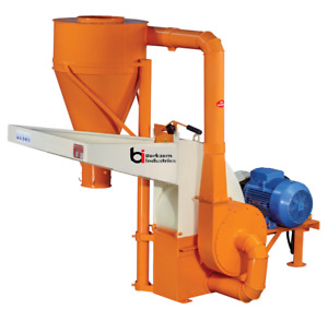 Hammer Mill 20 Hp Feed Grinder 240v 3 Phase