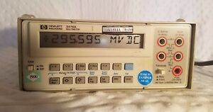 Agilent Hp 3478a Digital Multimeter