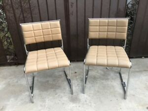 Restaurant Chairs Modern Tufted Leather 22 Total Available