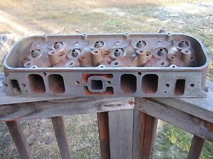 1965 Corvette Chevelle Z16 396 425 Hp Cylinder Head 3856208 Dated C 11 5