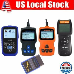 Lot Car heavy Truck Auto Fault Code Reader Engine Diagnostic Scanner Tester Bp