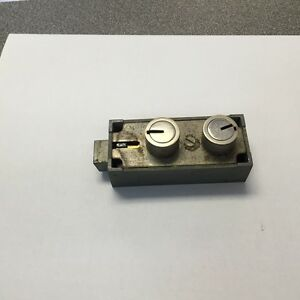 Mosler 5700 Brass Safe Deposit Locks 1 Or 2 Old Keys Per Lock Lots Of 5
