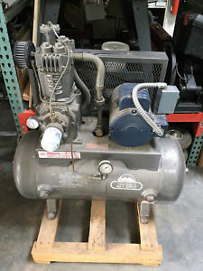 Quincy Qr 25 310 High Pressure Air Compressor 5 Hp 240v Single Phase