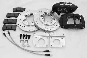 Wilwood Front Brake Upgrade Kit Datsun Truck 64 77 521 320 620