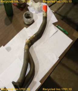 Down Pipe Audi 4000 Apx 1980 811 253 101 A Exhaust Front Pipe