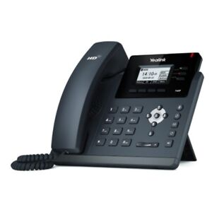 Yealink Sip t40g Ultra elegant Gigabit Ip Phone 3 Lines Hd Voice Poe