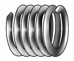 0 164 304 Stainless Steel Helical Insert With 8 32 Internal Thread Size Pk100