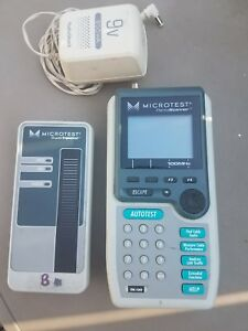 Microtest Pentascanner Cable Tester Analyzer W A c Adapter Battery