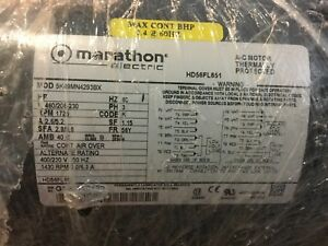 Marathon Electric Ac Motor Thermally Protected