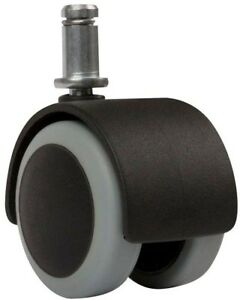 Swivel Casters 2 In Floor Protecting Rubber Office Chair Caster Wheel Set Of 5