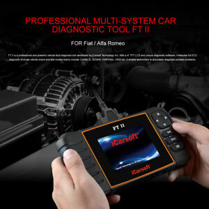 Icarsoft Ft Ii Fiat Alfa Romeo Obd2 Diagnostic Scanner Tool Abs Srs Oil Reset