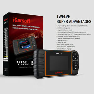 Icarsoft Vol Ii Diagnostic Scanner Volvo Saab Srs Abs Oil Reset I906
