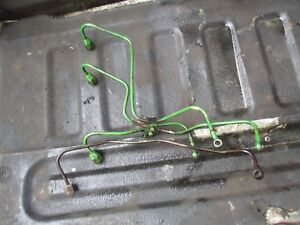 1972 John Deere 2030 Diesel Tractor Injector Fuel Lines Free Shipping
