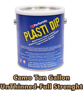 Preformix Plasti Dip Gallon Tan Green Unthinned Concentrate Full Strength