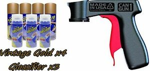 Performix Plasti Dip Gloss Wheel Kit 4 Vintage Gold 3 Glossifier Cans V grip