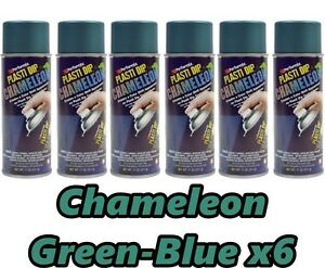 Performix Plasti Dip Chameleon Green To Blue 6 Pack Spray 11oz Aerosol Cans