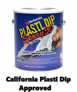 Performix Plasti Dip Spray 50 Matte Black Gallon Low Voc California Appoved Ca