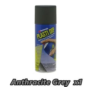 Performix Plasti Dip Anthracite Grey 1 Pack Rubber Coating Spray 11oz Can Single