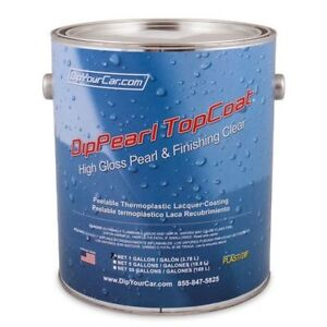 Plasti Dip Dyc 1 Gallon Topcoat Finishing High Gloss Dippearl Dip Pearl Spray