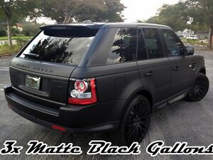 3 Gallons Matte Black Ready To Spray Performix Plasti Dip Rubber Coat free S h