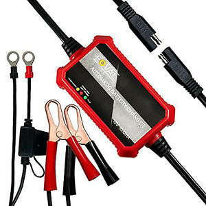 Automatic Car Battery Charger 12v Trickle Motorcycle Atv Charge Maintainer
