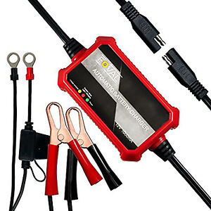 Automatic Car Battery Charger 12v For Deep Cycle Gel Cell Agm Monitor Maintainer