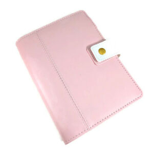 A6 Personal Size Planner Pink Faux Planner Unbranded Refillable Journal Diary