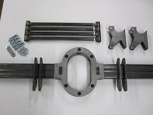 Universal Pro Street Parallel Rear Four Link Kit 4 Bar Kit Includes Safety Loop