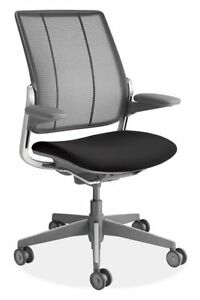 Diffrient Smart Chair In Grey By Humanscale open Box