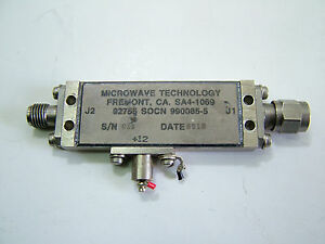 Rf Amplifier 1 8 5ghz 20db 10dbm Sma m f 990085 5 12v