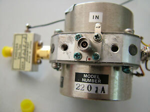 Yig 2201a 0 3 5ghz With Thd055 Bias Tee Fully Tested