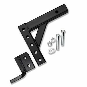 10 Adjustable Trailer Drop Hitch Ball Mount For 2 Receiver Truck Rv Suv New