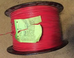 5000 Feet Of 0 010 30 Gauge Twisted Wire Vintage Old Stock