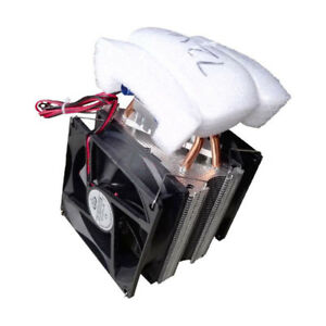 Thermoelectric Peltier Refrigeration Diy Water Cooling System Cooler Device Y4i7