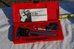Blue Point pmf142 Universal Measuring Set fowler nsk Max cal 6inch 0 1inch