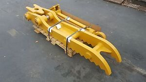 New 12 X 72 Heavy Duty Hydraulic Thumb For Caterpillar Excavators