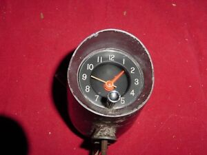 1961 62 63 Buick Pontiac Olds Chevy Top Of Dash Accessory Clock