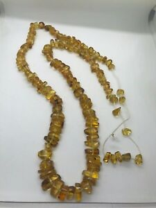 Nice Mexican Amber Necklace For Men Women Authentic