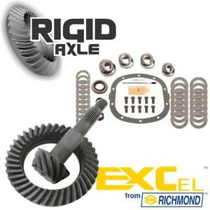 Gm 7 5 10 Bolt Richmond Excel 3 73 Ring And Pinion Gear W Master Bearing Kit